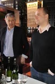 Aubron Jean Pascal Vinotas Michel Abood wine tasting