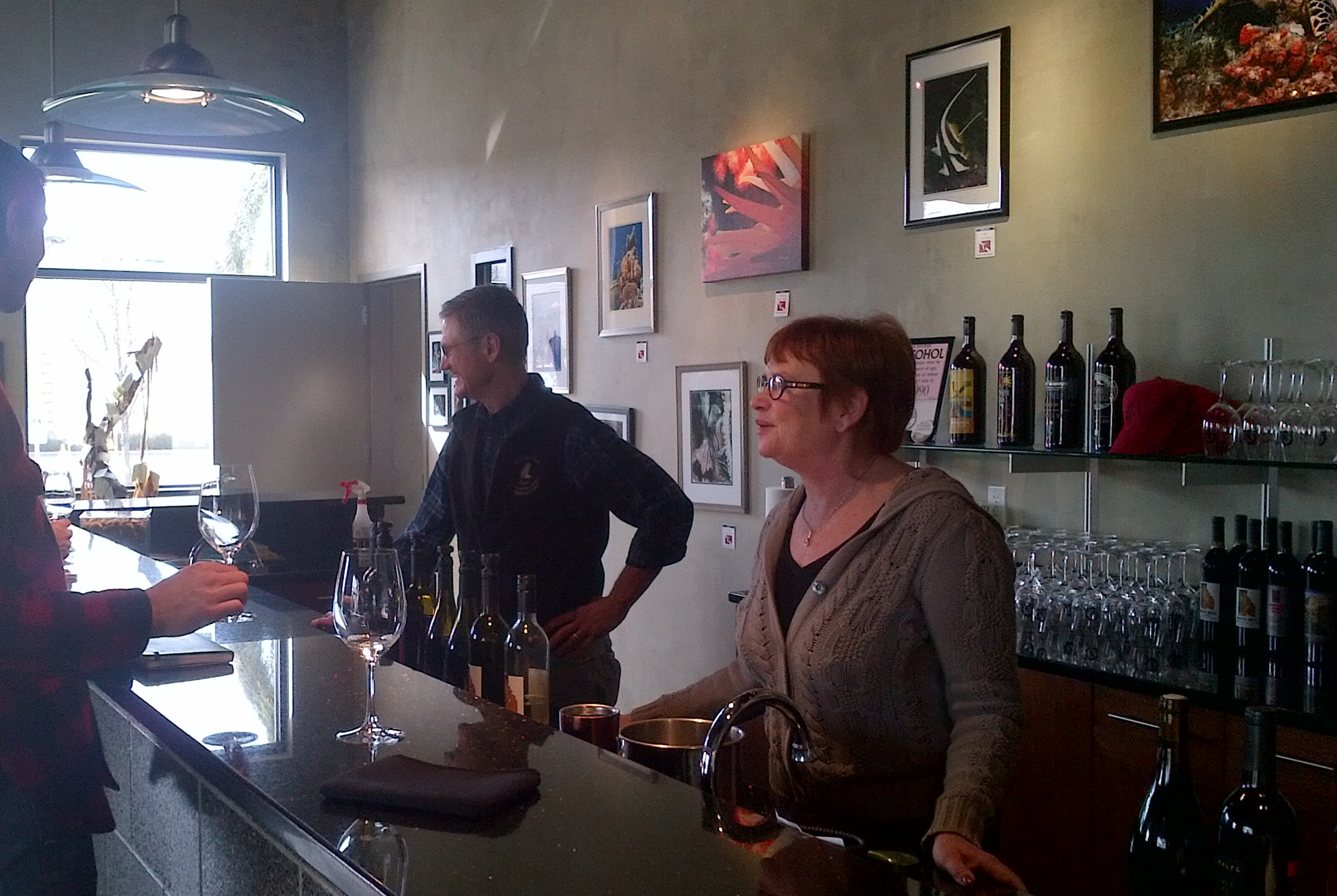 Thurston Wolfe Becky Wade Tasting Room